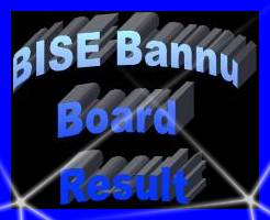 BISE Bannu Board 9th, 10th Class Result 2017