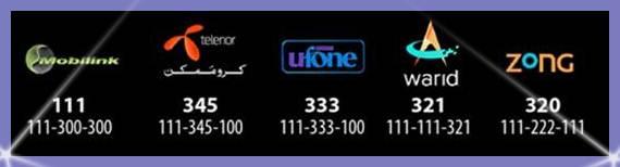 Complaint & Helpline of Ufone, Telenor, Jazz, Warid, Zong & PTCL