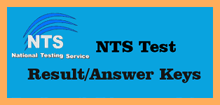 NTS Result 2018 & N.T.S Answer Keys of All Tests
