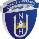 Nazeer Hussain University Admission 2018