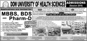 dow-university-of-health-sciences-admission-2016