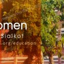 GC Women University Sialkot Inter 1st Year Admission 2017