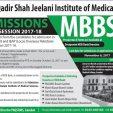 PAQSJIMS Gambat MBBS Admission 2017