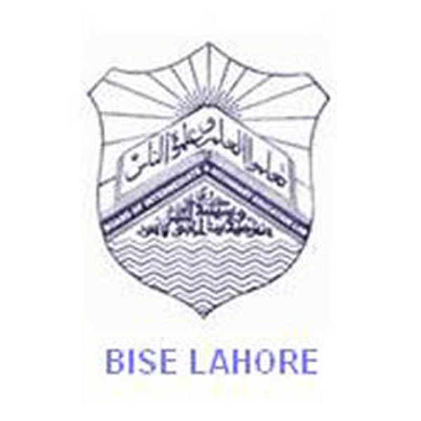 BISE Lahore Board Matric Exam Schedule 2018