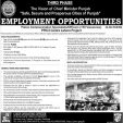 Punjab Police Jobs 2017 Communication Officers Safe City Project