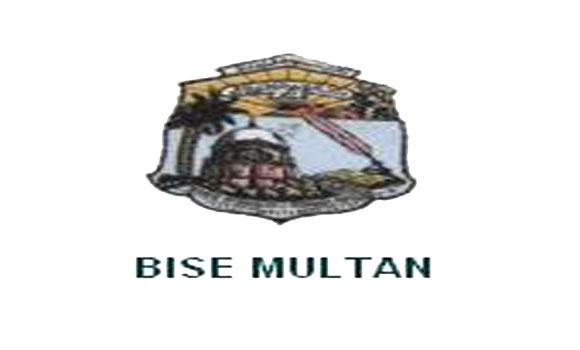 BISE Multan Board 9th & 10th Class Model Papers 2018