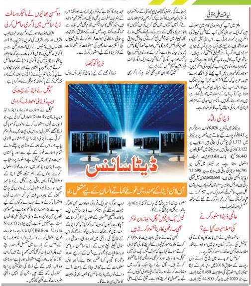 All About Data Science in Urdu & English