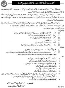 Constable & Lady Constable Punjab Police Jobs 2018