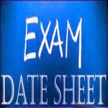 DG Khan Board Matric 9th & 10th Class Date Sheet 2020