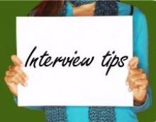 Top Ten Tips For Success In Interview