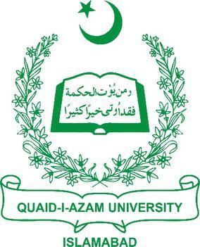 Quaid i Azam University Admission 2020 in Master Programs