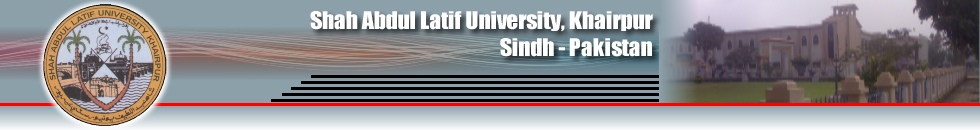 Shah Abdul Latif University Shikarpur Campus SALU Admission 2017
