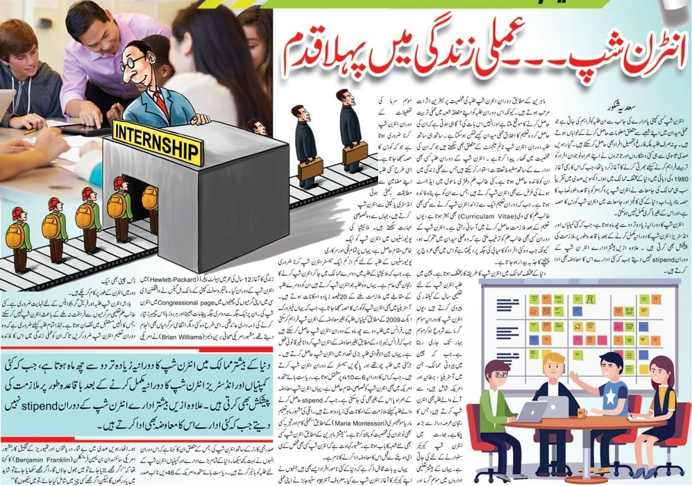 Career Counseling About Internship Search In Urdu & English