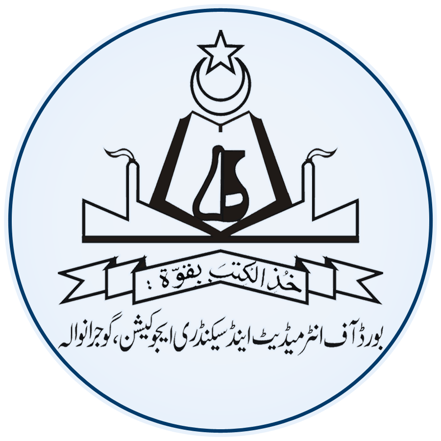 Gujranwala Board Matric & Inter Model Papers 2018