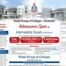 Hadaf Group of Colleges Peshawar Inter 1st Year Admission 2019, Free Education
