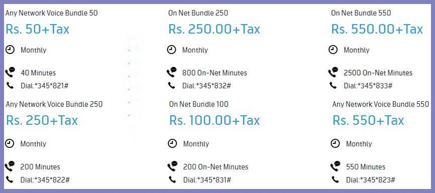 Telenor Call Packages 2020 (Postpaid)