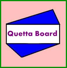 Balochistan Board Latest News 2021 About Date Sheet, Result, Roll No