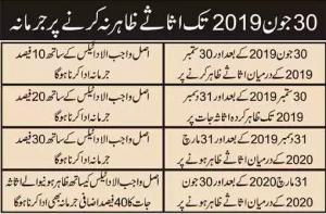 Tax Amnesty Scheme Pakistan 2019, Get Form of Assets Declaration Scheme & Urdu Guide