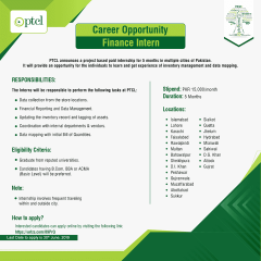 PTCL Internship Program 2019, Last Date, Apply Online