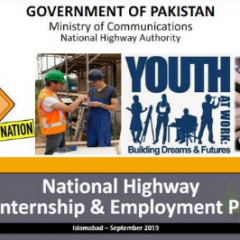 NHA & PM Imran Khan Youth Internship Program 2019
