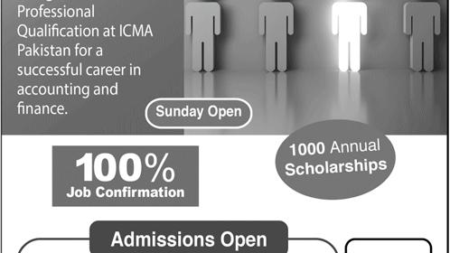 ICMA Pakistan CMA Admission 2021, Apply Online