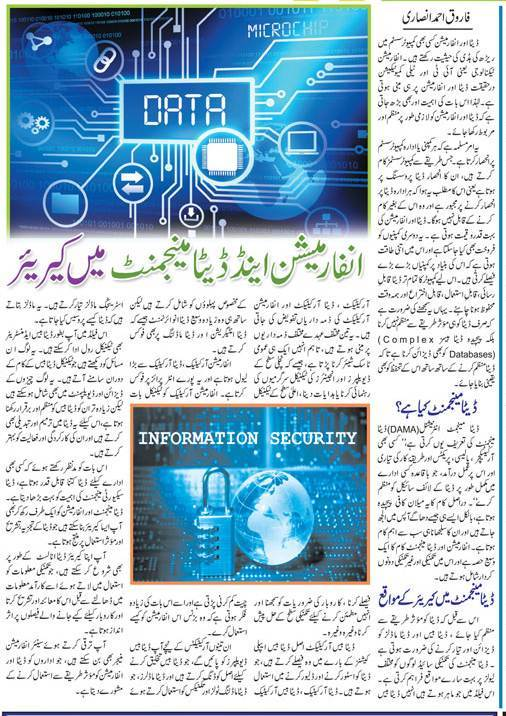 Career Scope of Information & Data Management in Pakistan