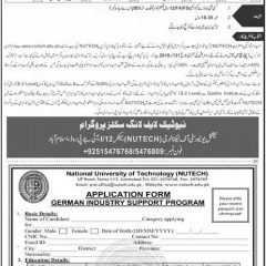 Get Free Work Permit of Germany From Pakistan 2020-German Study Visa with Stipend (Nutech)